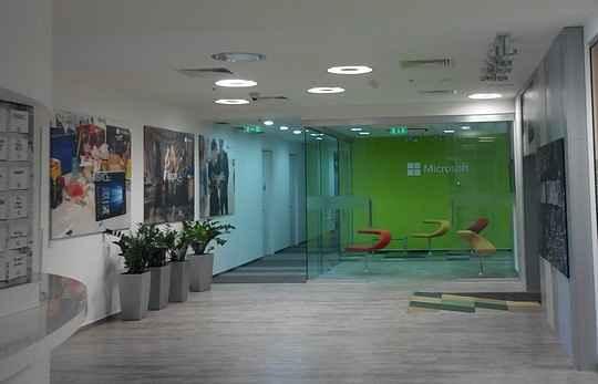 Офис компании Микрософт в Киеве